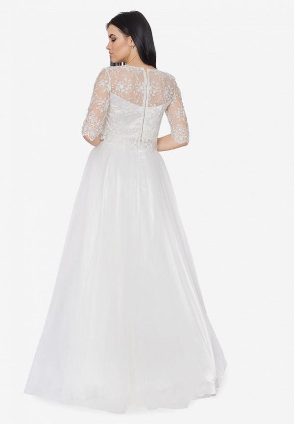 Платье Seam цвет белый  Фото 3