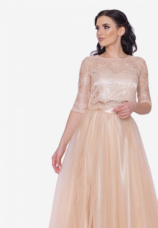 Платье Seam цвет золотой  Фото 2