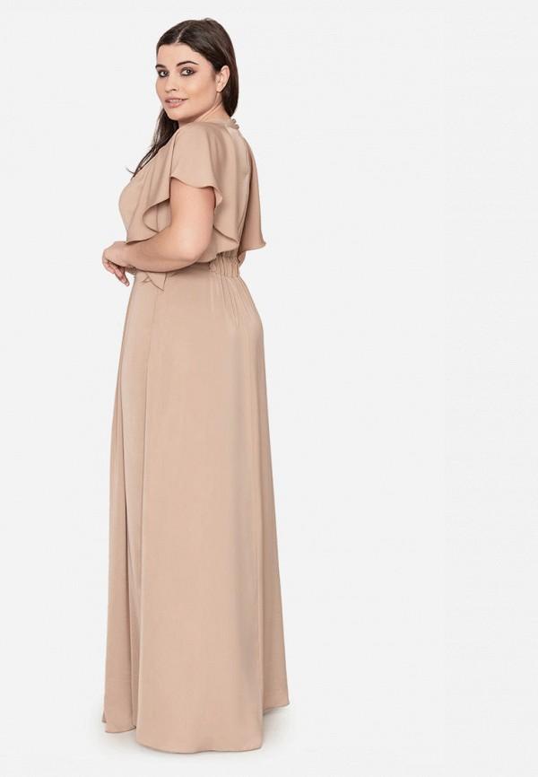 Платье Seam цвет бежевый  Фото 2