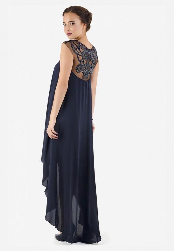 Платье Seam цвет синий  Фото 2