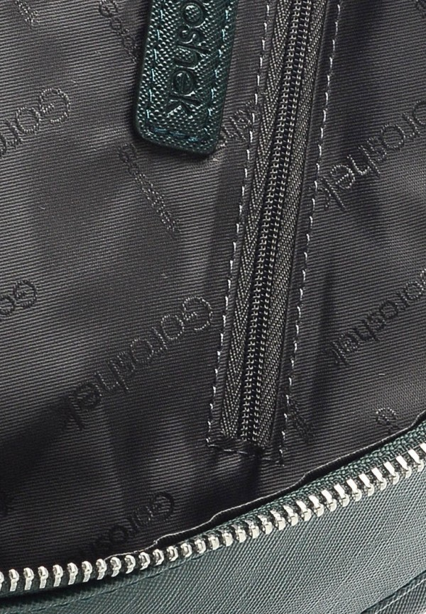 Фото 6 - Женский рюкзак Goroshek зеленого цвета