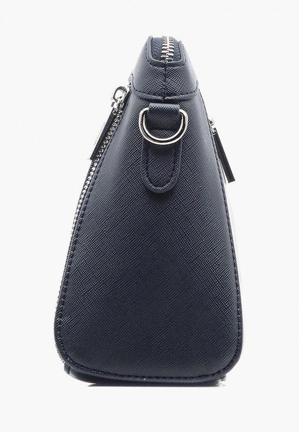 Фото 2 - Женскую сумку Goroshek синего цвета