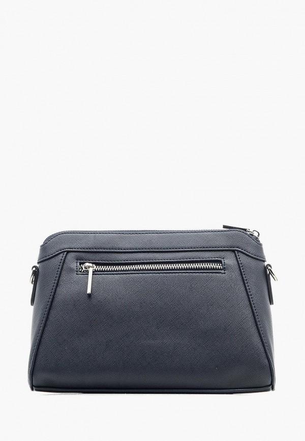 Фото 3 - Женскую сумку Goroshek синего цвета