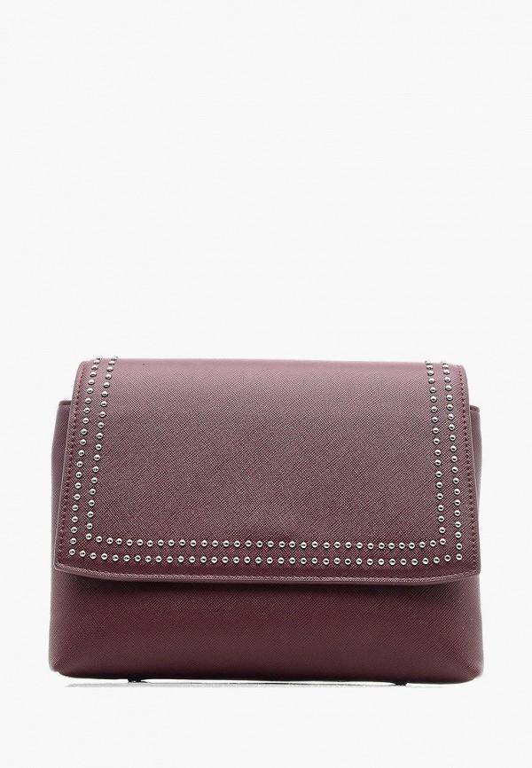Фото - Женскую сумку Goroshek бордового цвета