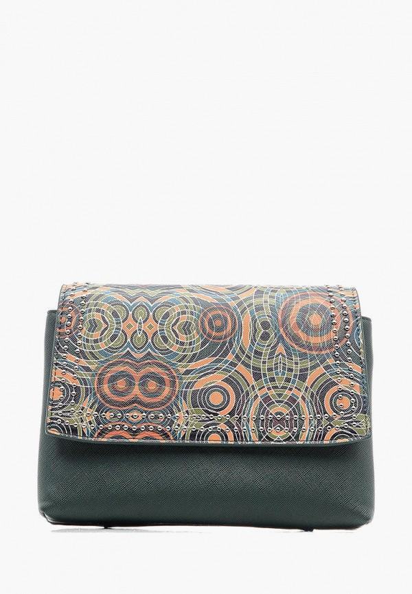 Фото - Женскую сумку Goroshek зеленого цвета