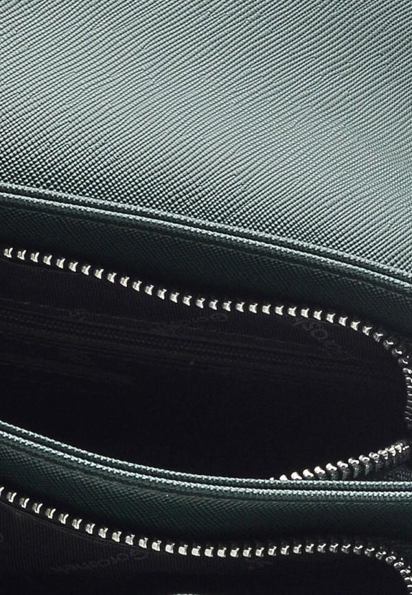 Фото 5 - Женскую сумку Goroshek зеленого цвета