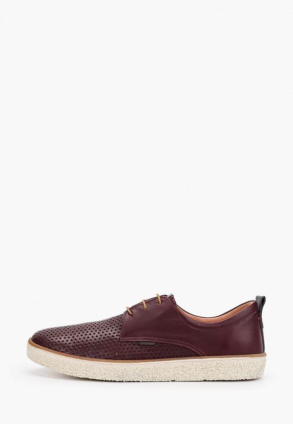 женские ботинки allora, бордовые