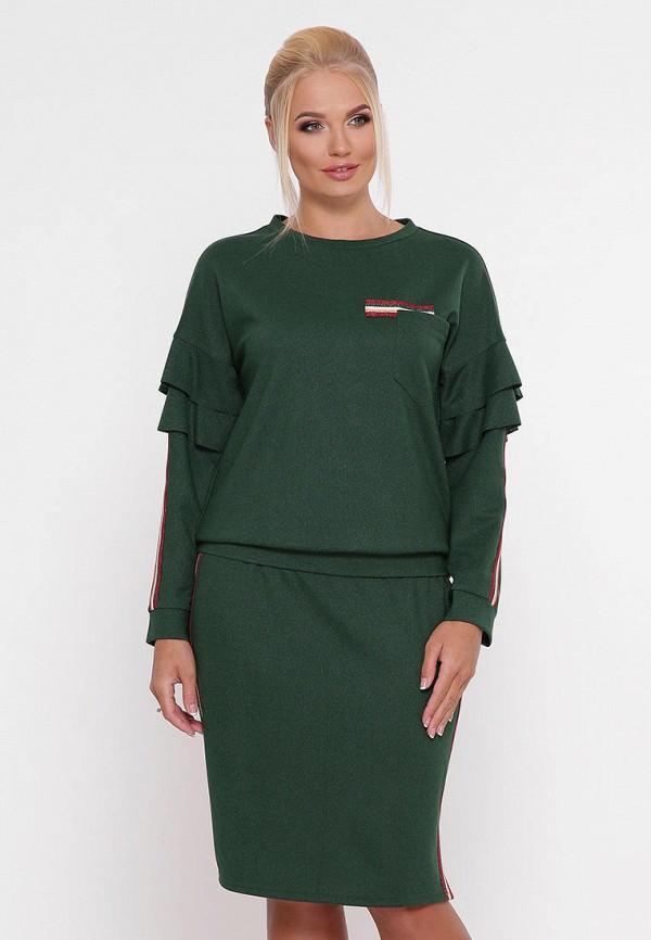 женский костюм vlavi, зеленый