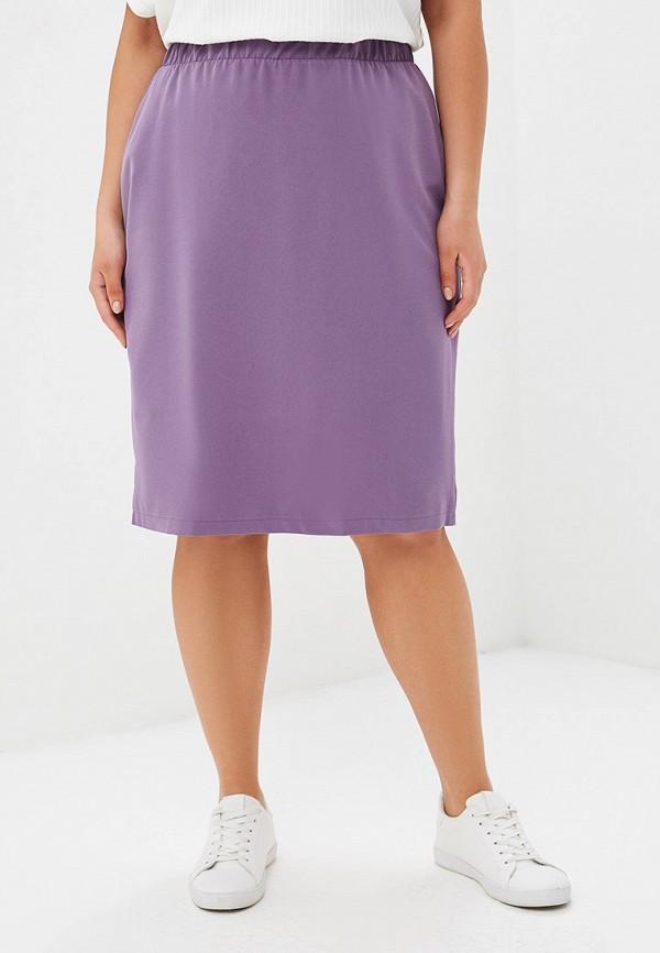Юбка  - фиолетовый цвет