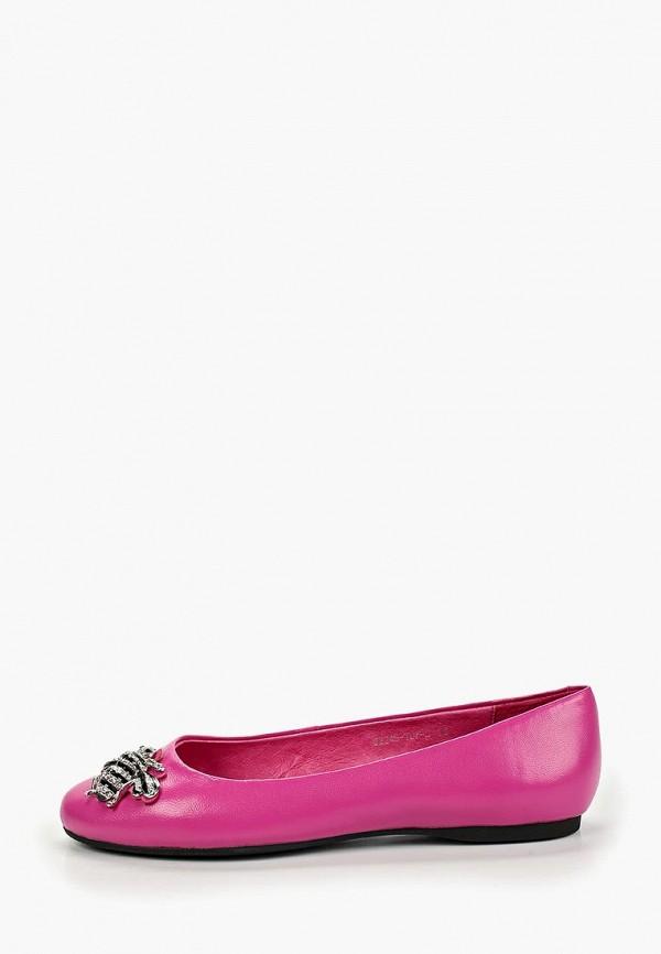 женские балетки graciana, розовые
