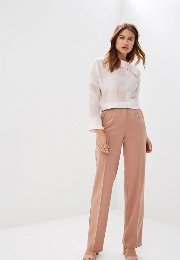 Фото 2 - Женские брюки Ummami кораллового цвета