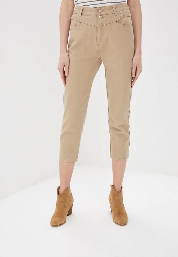 Фото - Женские брюки Marissimo бежевого цвета