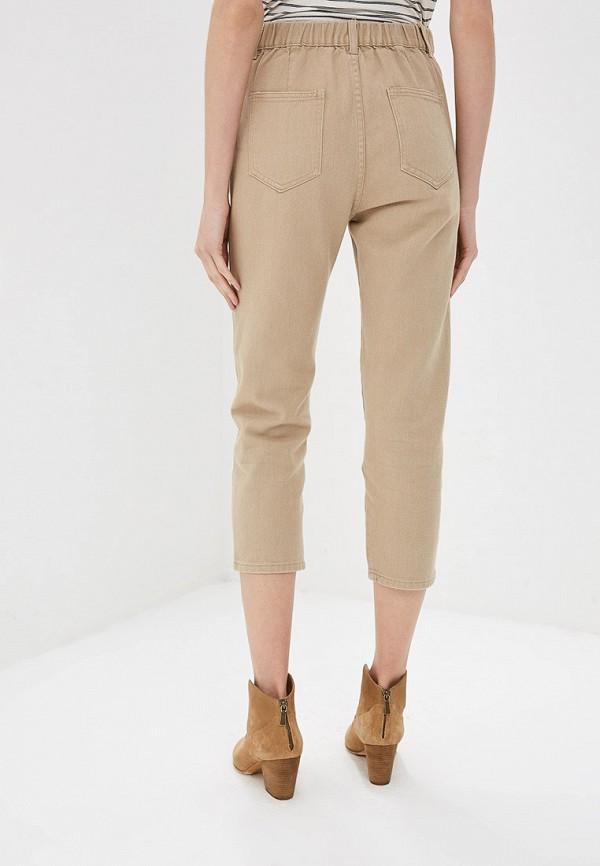 Фото 3 - Женские брюки Marissimo бежевого цвета
