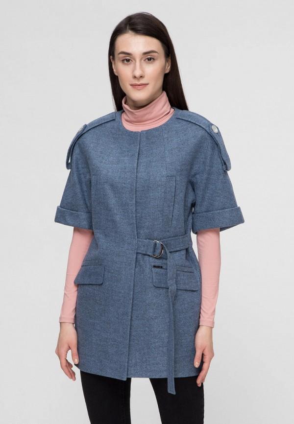 женское пальто victoria bloom, синее