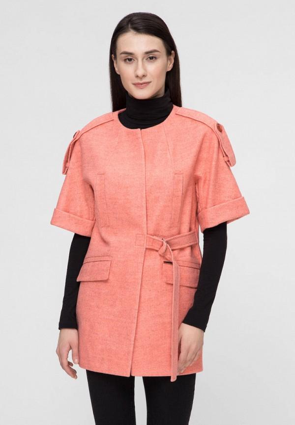 женское пальто victoria bloom, розовое