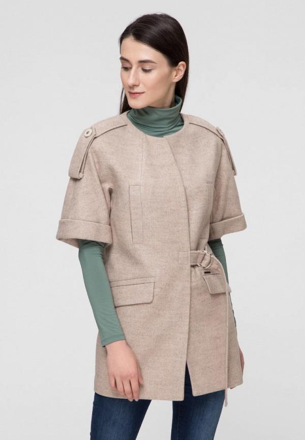 женское пальто victoria bloom, бежевое