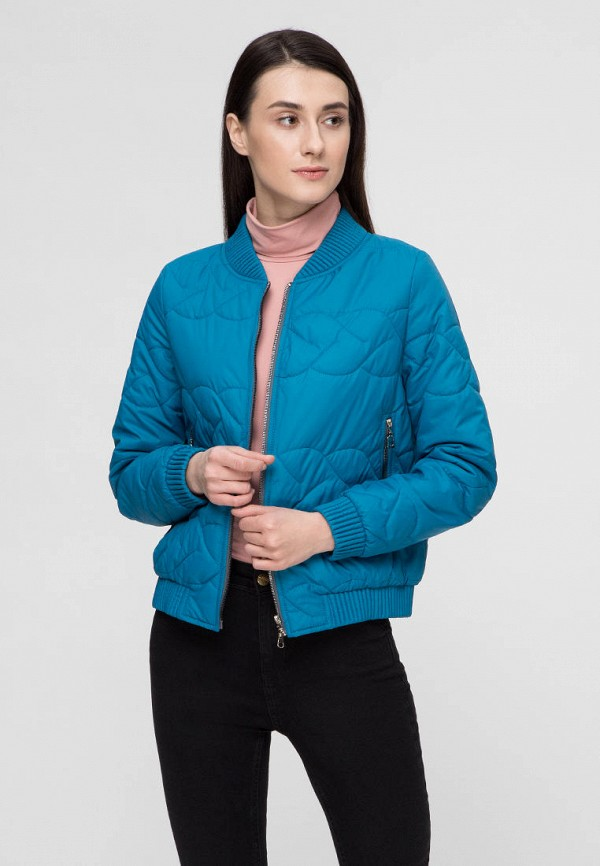 женская куртка victoria bloom, голубая