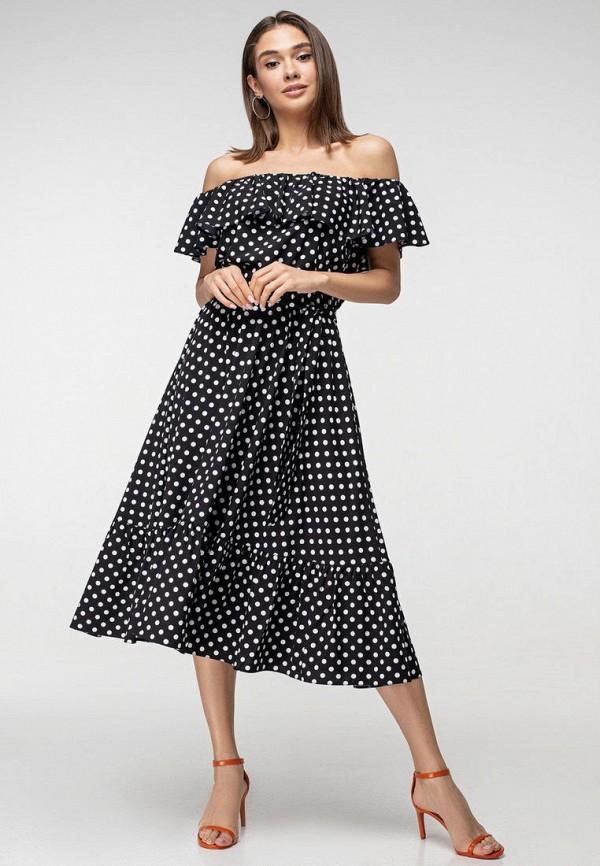 женское платье itelle, черное