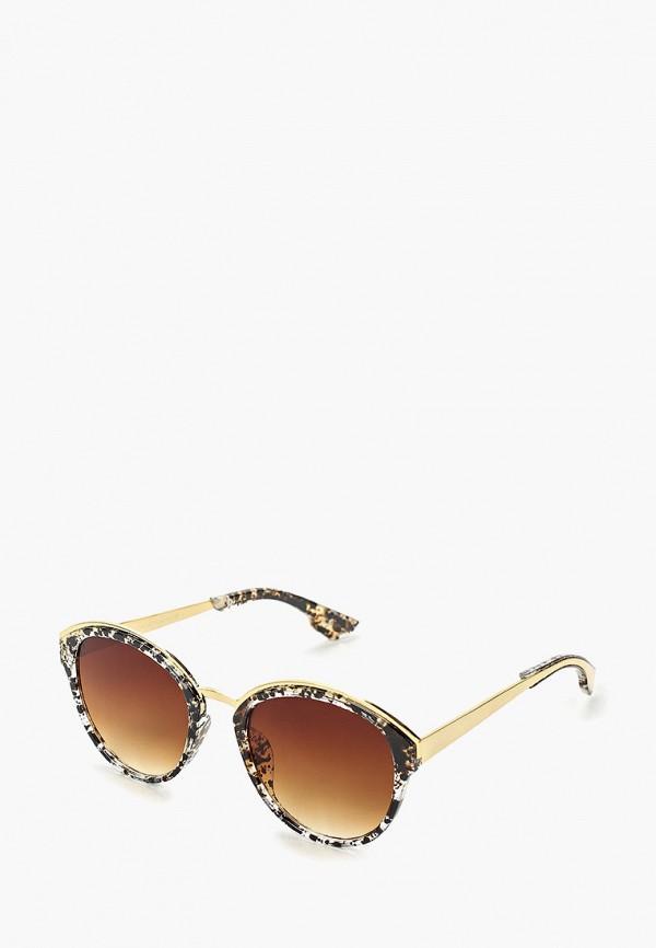 женские солнцезащитные очки zarina, коричневые