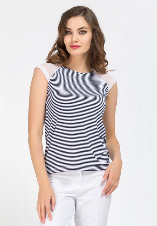 женская футболка remix, синяя