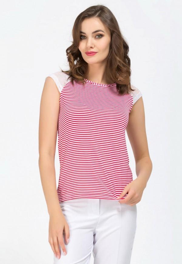 женская футболка remix, розовая