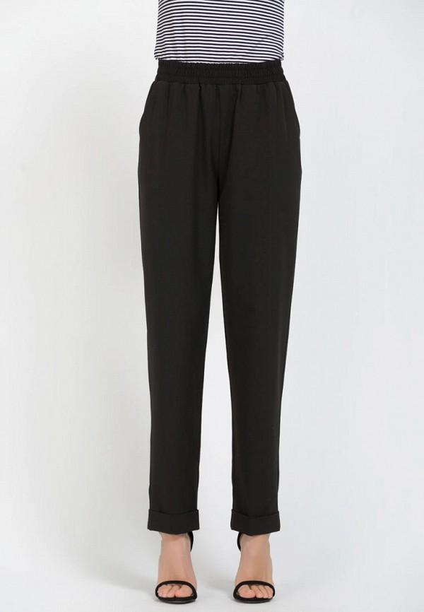 женские прямые брюки remix, черные
