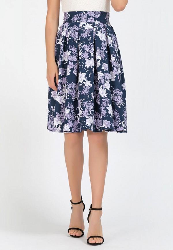 женская юбка remix, синяя