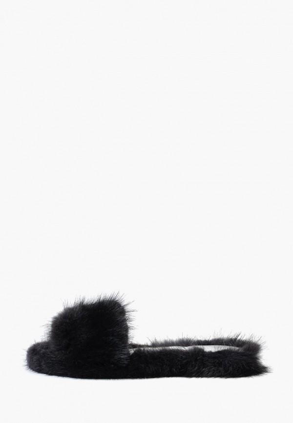 женские тапочки litvin, черные