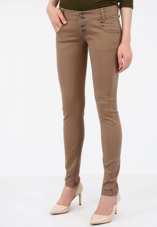 женские джинсы alcott, коричневые