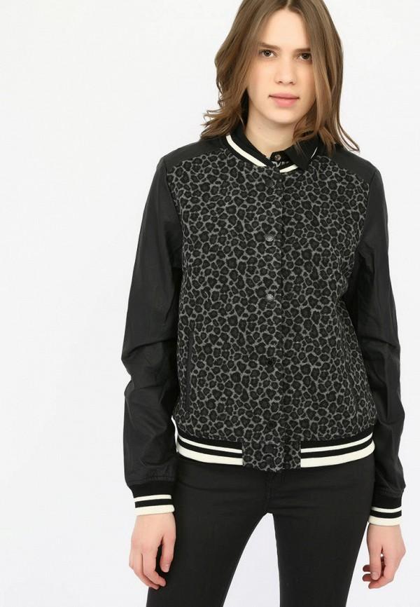 женская куртка alcott, черная