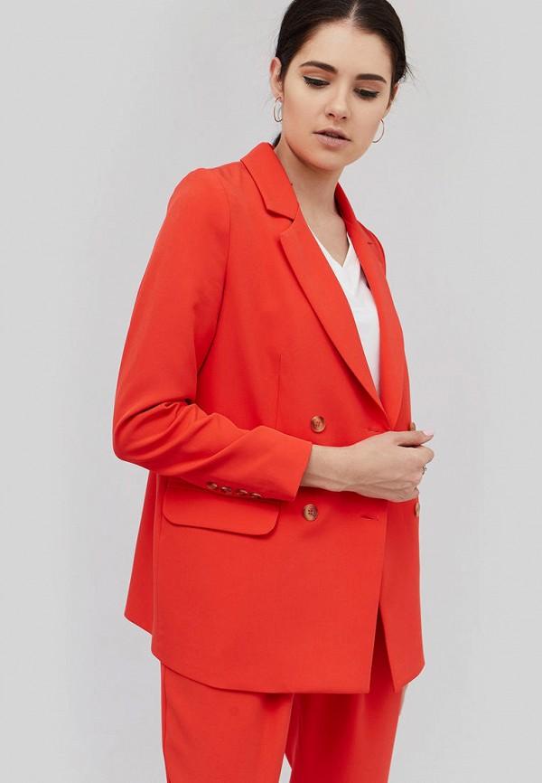 женский пиджак cardo, оранжевый
