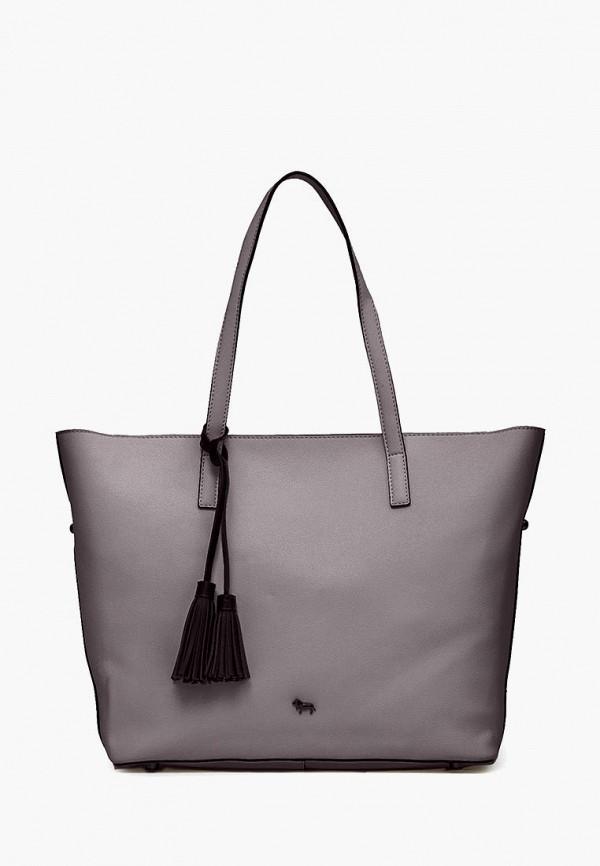 женская сумка-шоперы labbra, серая