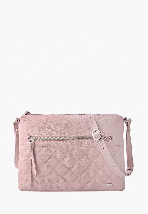 женская сумка esse, розовая