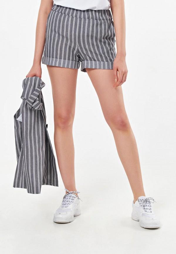 женские повседневные шорты fly, серые