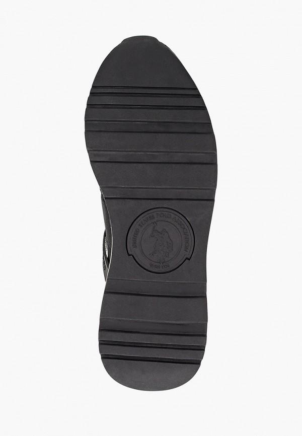 Фото 5 - Женские кроссовки U.S. Polo Assn. черного цвета