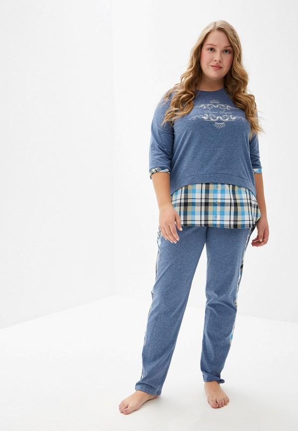 женский костюм lika dress, синий