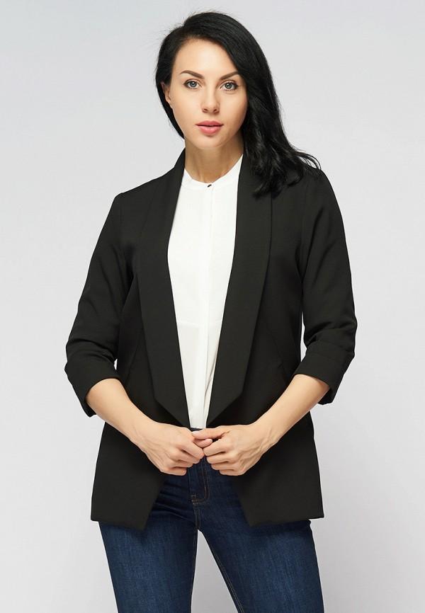 женский жакет bellart белларт, черный