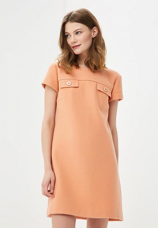 Купить Платье Galina Vasilyeva, mp002xw025mf, оранжевый, Весна-лето 2018