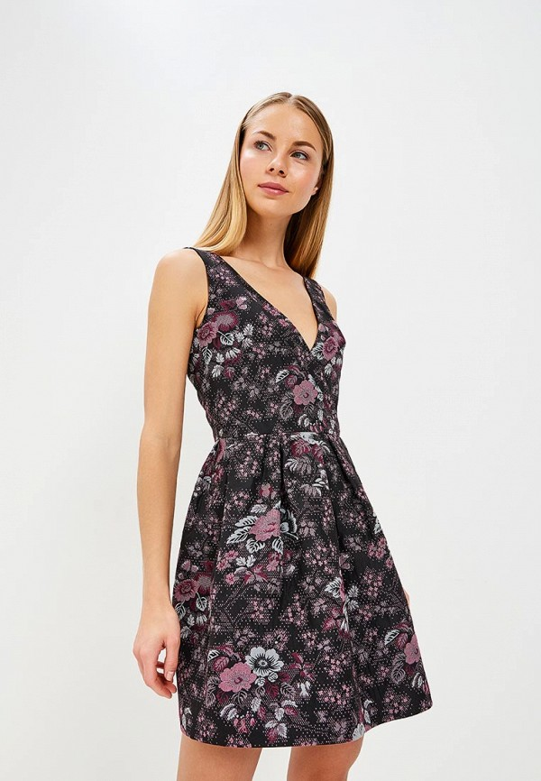 Купить Платье Galina Vasilyeva, MP002XW025MN, черный, Весна-лето 2018