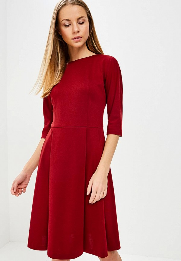 Купить Платье Galina Vasilyeva, MP002XW025MQ, бордовый, Весна-лето 2018