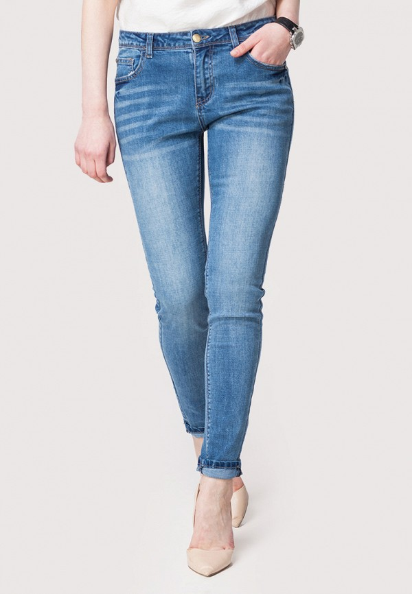 женские джинсы vilatte, голубые