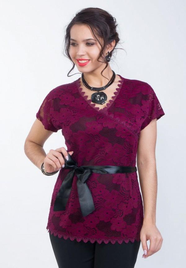 Купить женскую блузку Wisell бордового цвета