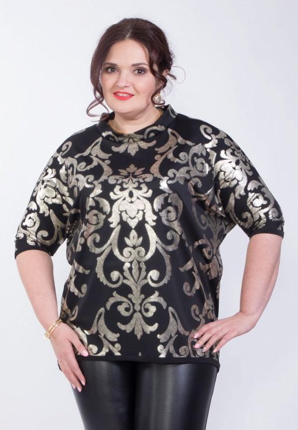 Купить женскую блузку Wisell черного цвета