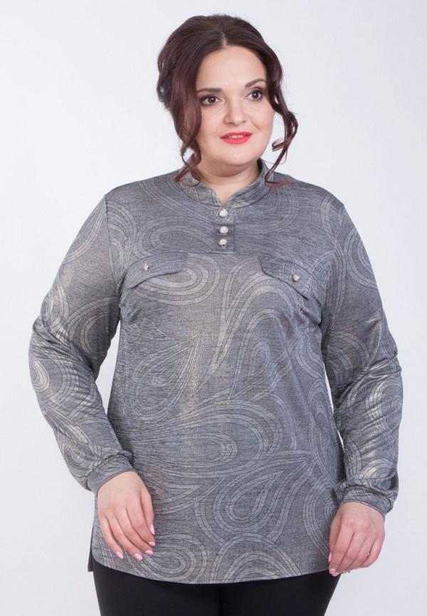 женская блузка wisell, серая