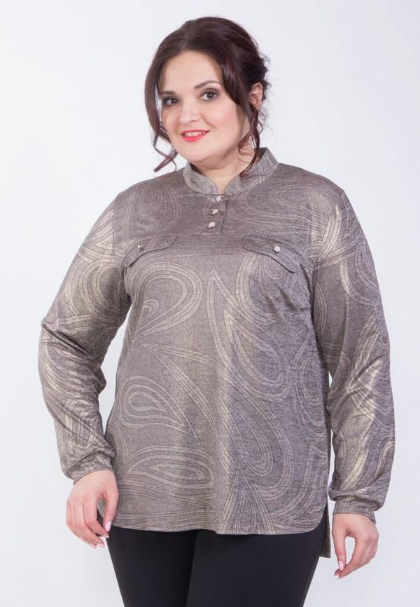 Купить женскую блузку Wisell серого цвета