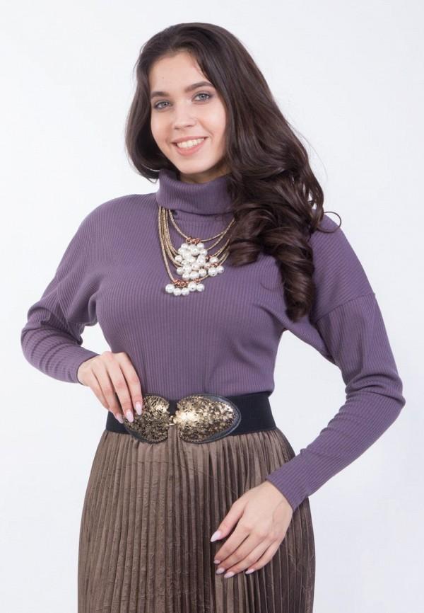 женская водолазка wisell, фиолетовая
