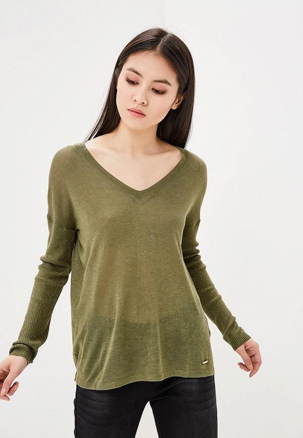 женский пуловер top secret, зеленый