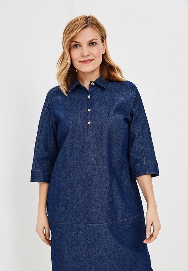 Платье джинсовое Olsi Olsi MP002XW025VC футболка olsi olsi mp002xw025v7