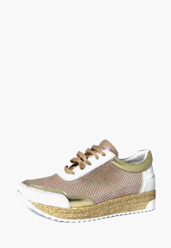 женские кроссовки blizzarini, золотые