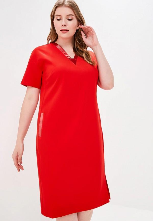 Купить Платье Balsako, mp002xw025wt, красный, Весна-лето 2018
